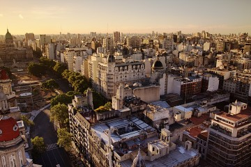 Congress_Plaza_Buenos_Aires_at_Sunset