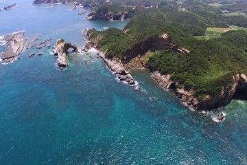 Stunning drone footage of Kagoshima Islands in Japan